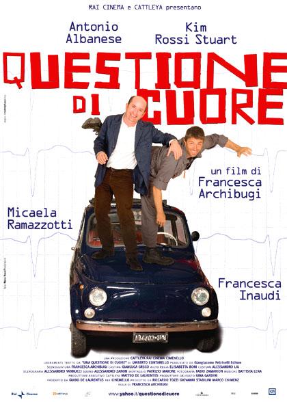 QUESTIONE DI CUORE – REGIA DI FRANCESCA ARCHIBUGI – CON ANTONIO ALBANESE, KIM ROSSI STUART, MICAELA RAMAZZOTTI E FRANCESCA INAUDI
